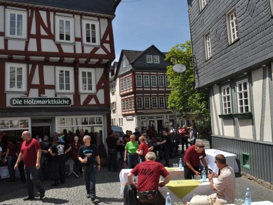 Pfingsttreffen Burg Gleiberg 2014
